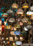 Traditional turkish lamps Royalty Free Stock Images
