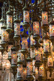 Traditional turkish lamps Stock Photo