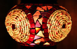 Traditional Turkish lantern. Close up Stock Images