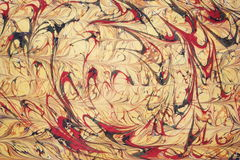 Traditional Turkish marbled paper artwork royalty free stock images