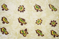 Traditional Turkish marbled paper artwork Stock Photography