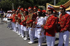 Traditional Turkish Marching Band Stock Image