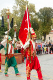 Traditional turkish Mehter band Royalty Free Stock Photos