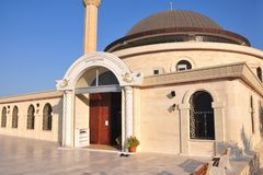 Mosque in Kemer, Turkey Royalty Free Stock Photo