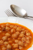 Traditional Turkish pea meal Stock Image
