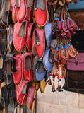 Traditional Turkish shoe Yemeni Royalty Free Stock Photos