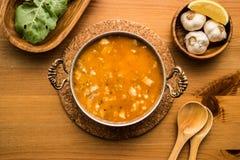 Traditional Turkish Soup Kelle Paca. Stock Photos