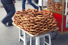 Turkish pretzels Stock Photos