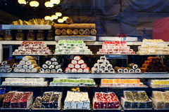 Traditional Turkish sweets Stock Photos