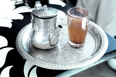 Traditional Turkish tea stock photos