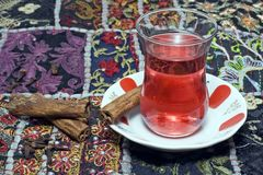 Traditional Turkish Tea Royalty Free Stock Image