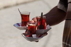 Traditional Turkish tea Royalty Free Stock Photography