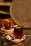 Traditional Turkish tea Royalty Free Stock Images