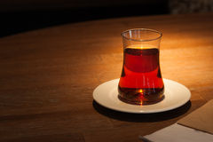 Traditional Turkish tea Royalty Free Stock Photos