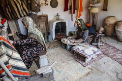 Traditional Turkish village life i Stock Photos