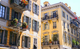 Traditional typical Provence style window of south of France. Stock Images