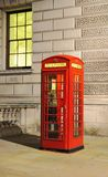 Traditional UK phone box. Traditional old style UK red phone box Stock Photography