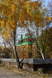 Traditional Ukrainian church Royalty Free Stock Images
