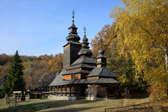 Traditional Ukrainian church Stock Photography