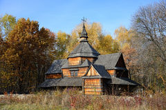 Traditional Ukrainian church Stock Images