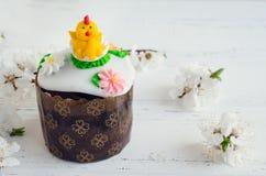 Traditional Ukrainian Easter cake Royalty Free Stock Photos