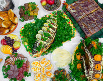 Traditional ukrainian food Royalty Free Stock Images