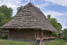 Traditional Ukrainian house Stock Photos