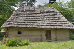 Traditional Ukrainian house Stock Image