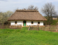 Traditional ukrainian house Royalty Free Stock Image