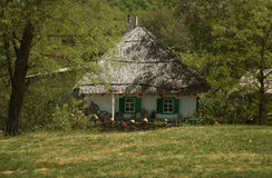Traditional ukrainian house Stock Image