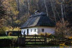 Traditional Ukrainian house Royalty Free Stock Photography