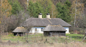 Traditional ukrainian house Royalty Free Stock Images