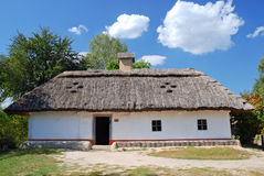 Traditional Ukrainian hut Royalty Free Stock Photos
