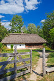 Traditional Ukrainian hut Royalty Free Stock Photo