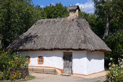 Traditional Ukrainian hut Royalty Free Stock Images