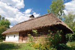 Traditional Ukrainian hut Stock Photos