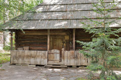 Traditional Ukrainian old residential house. Stock Photo