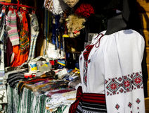 Traditional ukrainian shirt Royalty Free Stock Photography