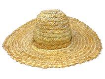 Traditional ukrainian straw hat Stock Photo