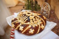 Traditional ukrainian wedding bread Royalty Free Stock Photography