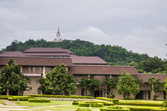 Traditional University in rural countryside, Thailand Royalty Free Stock Photo