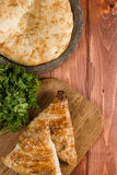 Traditional uzbek flatbread Royalty Free Stock Image