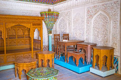The traditional Uzbek furniture Royalty Free Stock Image