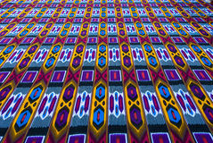Traditional uzbek textile Royalty Free Stock Image