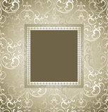 Traditional vector invitation card Royalty Free Stock Photo