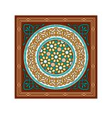 Vector Islamic Brown Ramadan Ornaments. Traditional Vector Islamic Brown Ramadan Festive Ornaments Royalty Free Stock Photography