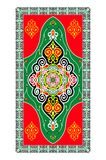 Vector Islamic Ornaments. Traditional Vector Islamic Colorful Festive Ornaments Stock Photos