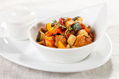 Traditional vegetable ratatouille Royalty Free Stock Photos