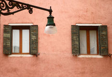 Traditional venetian architecture Stock Photography