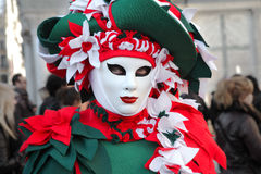 Traditional Venetian Carnival 2011. Stock Photos